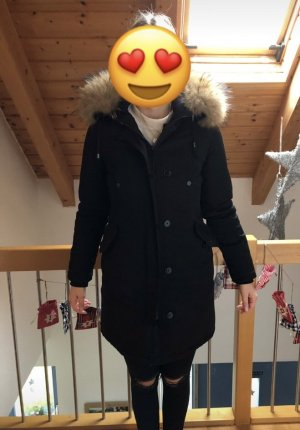 Winterparka mit XXL Fell