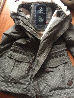 Ragwear Manteau à capuche multicolore