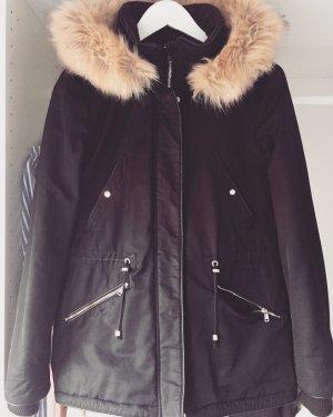 Winterparka Zara mit Fell