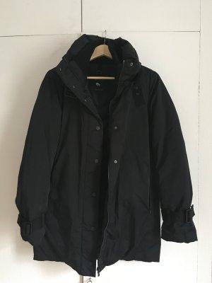 Winterparka Zara / schwarz