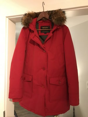 Woolrich Parka red-dark red pelt