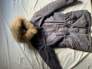 IQ+ Berlin Pelt Coat dark blue