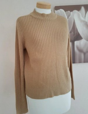 H&M Knitted Sweater beige-camel