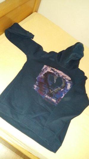 Maglione con cappuccio multicolore