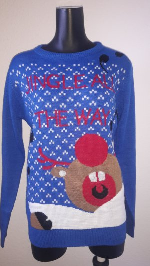 Christmasjumper steel blue