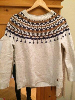 s.Oliver Norwegian Sweater oatmeal