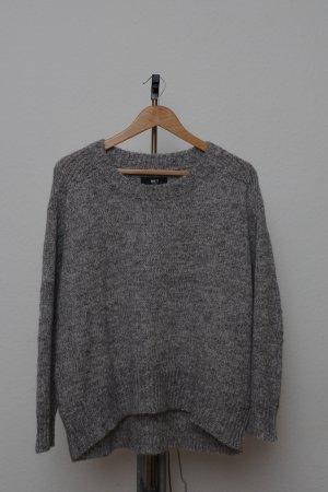 MKT Studio Pull en laine gris foncé-gris laine alpaga