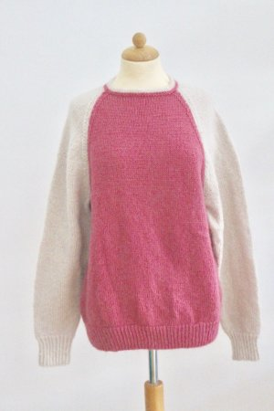 Winterpullover Wolle One Size
