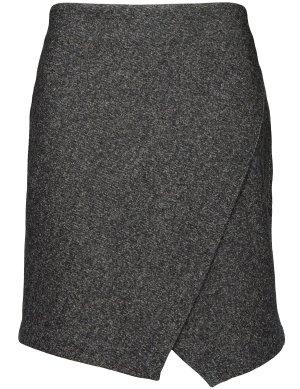 Basefield Falda de tubo gris antracita