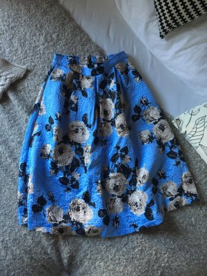 Winterroses Skirt Pastell Blue Quilted Ornament