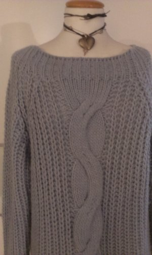0039 Italy Sweater pale blue