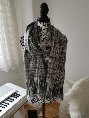 H&M Sciarpa lavorata a maglia grigio scuro-antracite