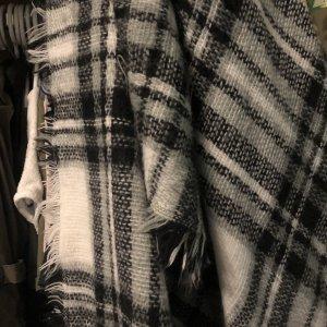 C&A Wollen sjaal wit-zwart