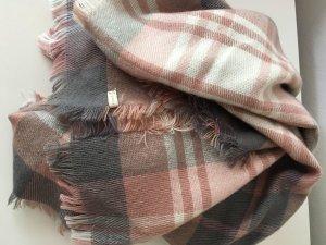 Winterschal ESPRIT grau-rosé