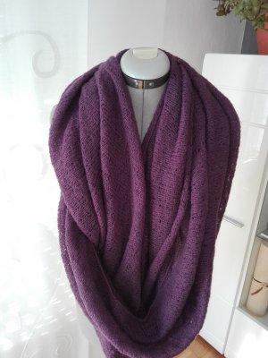 Sjaal bruin-paars