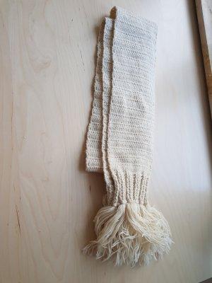 Winterschal lang reine Wolle