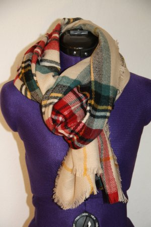 Fraas Scarf multicolored polyacrylic