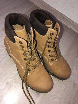 Desert Boots brown-gold orange