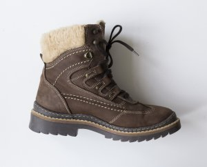 C&A Snow Boots brown polyacrylic
