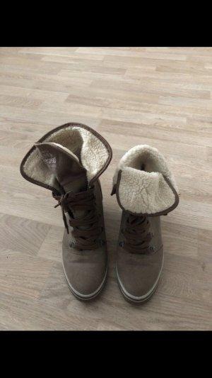 Esprit Snow Boots grey brown