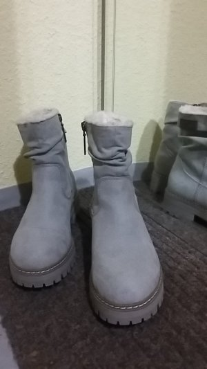 s.Oliver Booties light grey