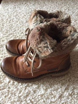 Rieker Boots cognac-coloured
