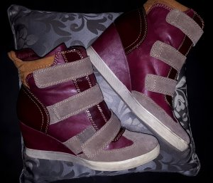 Winterschuhe, warme Wedges, bequem