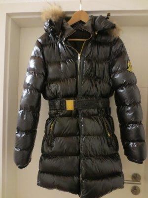 WinterStepp Jacke, schwarz, Echtfellkaputze, Gr. 36, Jolina