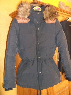 Wintersteppjacke dunkelblau Gr 38