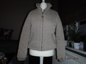 Wintersteppjacke in taupe