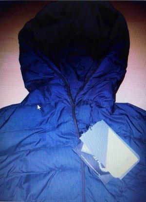 Cappotto invernale blu scuro