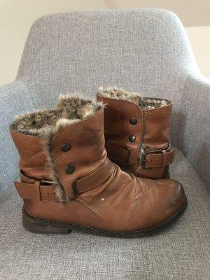 Tamaris Winter Booties brown