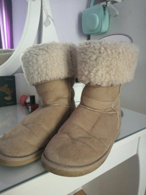 Winter Boots beige