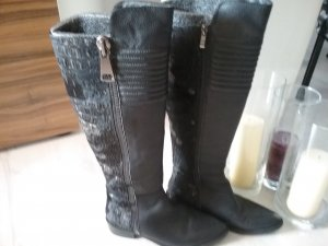 Alma en Pena Winter Boots black-gold-colored