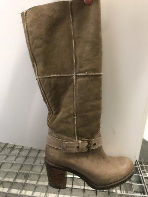 Bama Heel Boots light brown