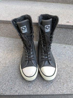 Korte laarzen antraciet-donkergrijs
