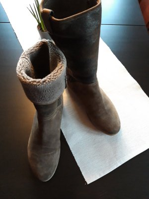 Alberto Gozzi Slip-on Booties light brown leather