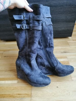 Winter Boots dark grey-anthracite