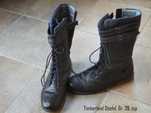 Winterstiefel Timberland Gr. 40 dunkelblau