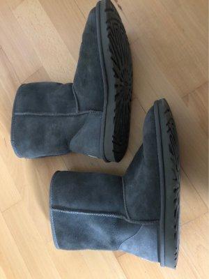 UGG Fur Boots grey-dark grey