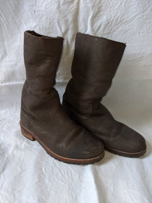 Buffalo Winter Boots dark brown