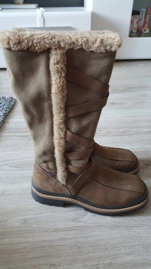 Fabiani High Boots light brown