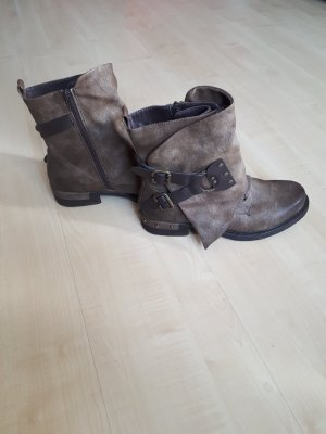 Rieker Winter Boots light brown imitation leather