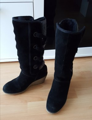 Sir Oliver Winter Booties black-grey
