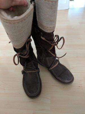 Tamaris Winter Boots dark brown