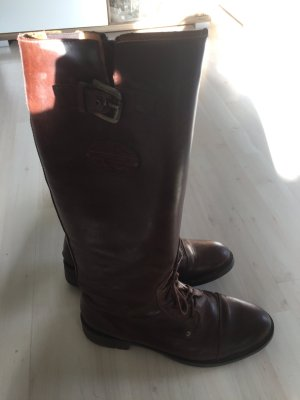 Tommy Hilfiger Riding Boots black brown
