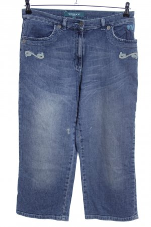 Wissmach 3/4 Length Jeans blue street-fashion look