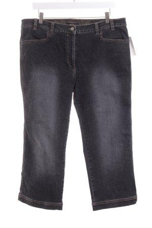 Wissmach 3/4 Jeans schwarz-grau Casual-Look