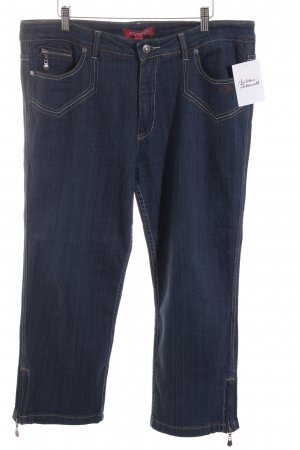 Wissmach 7/8 Jeans dunkelblau Country-Look