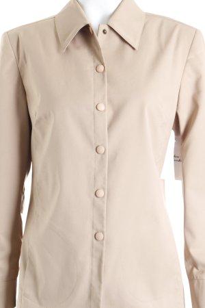 Wissmach Hemd-Bluse beige Eleganz-Look